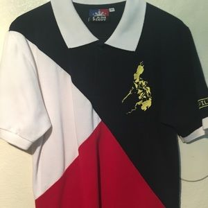 Other - Filipino Tri-Colored Polo Shirt